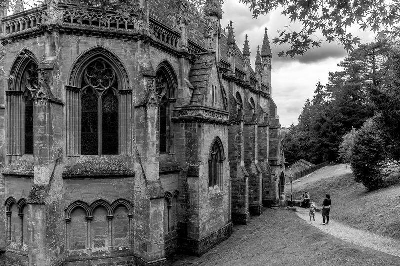 Chapel, Tyntesfield, Bristol National Trust Black And White Architecture Tyntesfield