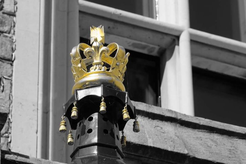 Windsor Castle Crown Lamp Architecture Royalty Gold Zoom Blackwhiteandgold Camera Filter Travel Photography