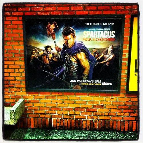 Spartacus premiere #invisionagency Invisionagency