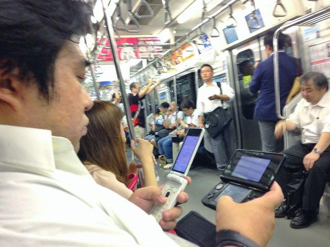 Old School 山手線(JR Yamanote Line) Commuting Low Tech