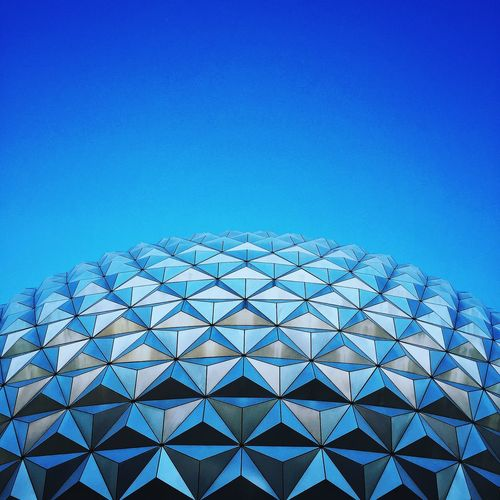 Negative Space Epcot Disney Sky IPhoneography EyeEm Best Shots EyeEm