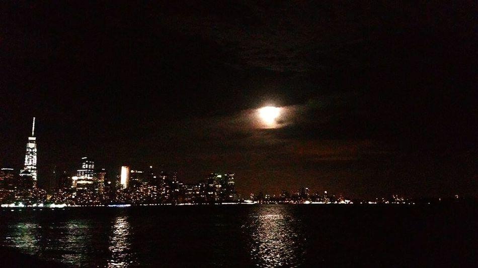Night Walk,moon