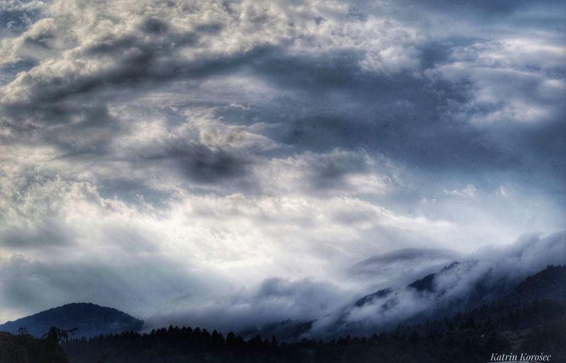 Wolken Nebel