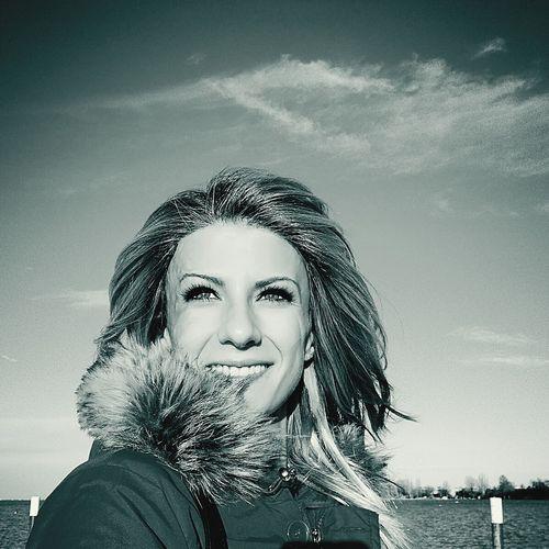 Pixelated Young Women Portrait Beautiful Woman Futuristic Human Face Headshot Beauty Drop Sky