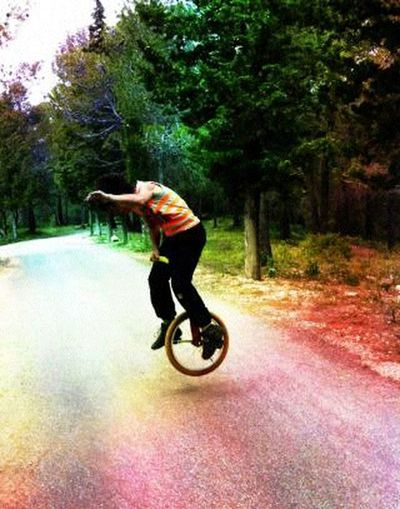 Urban Sports Unicycle! Passion Monocycle Freestyle