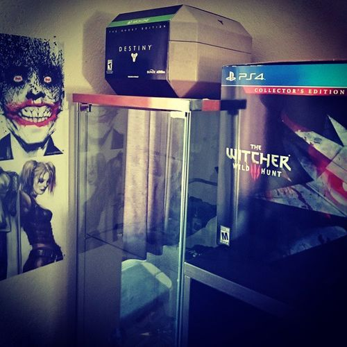 It's an obsession. PS4 Thewitcher3 XboxOne Destinygame