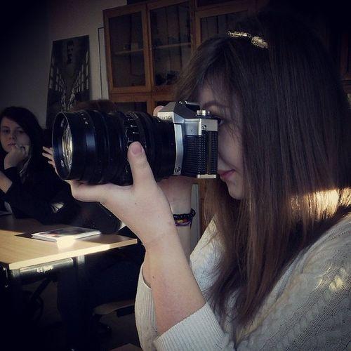 Podstawy filmu i fotografii <3 Plastyk Olsztyn Fotografia Film zenit Nikon aparat lustrzanka taka droga, wow