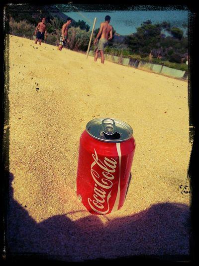 Plage Beachvolleyball Coca Cola Sexy Boy