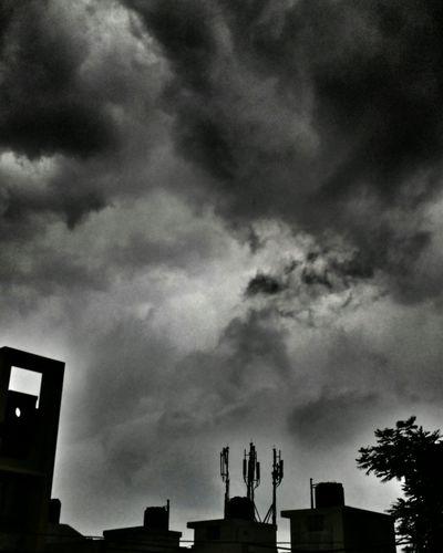 Clouds Makingdrama Rainy Day Rain
