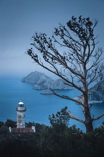 While you were sleeping! Travel Destinations Camping EyeEmNewHere Gelidonya Light House Gelidonya Feneri Mediterranean Sea Sunrise Early Morning Landscape_Collection Landscape Tree Low Angle View Sky Nature No People Outdoors Beauty In Nature Day