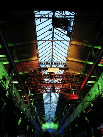 Industrialbeauty Illumination Warehouse Night Lights Discover Your City Germany OpenEdit Architecture Mainhatten Skylights
