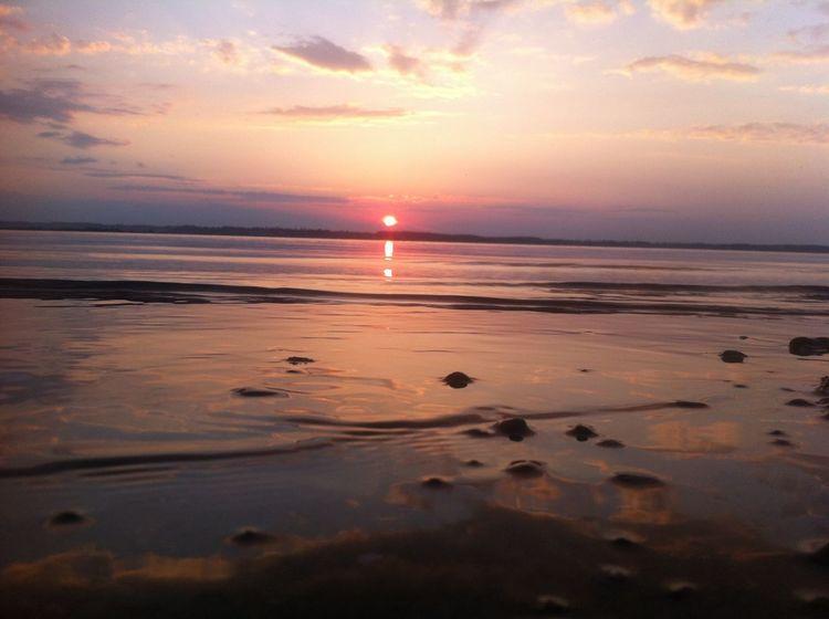 Sunset Rewa IPSNoFilter IPSAqua Poland Water Reflections