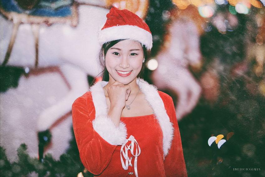 Canon 6D 80200 Girls Portrait Winter Night