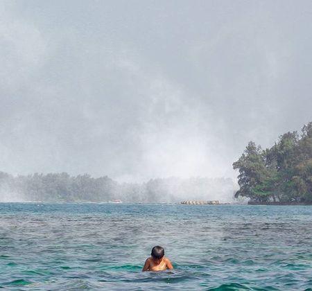 Bukannya pelit, tapi air laut tidak boleh diminum. Instasunda Ftwotw Superhubs
