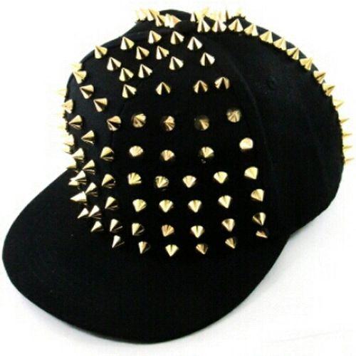 Spiked Snapbacks $45 NikkiesKorner.com