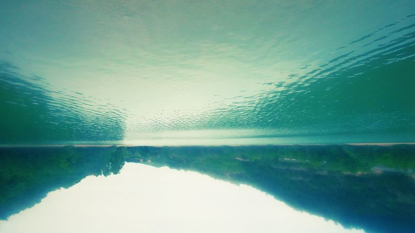 Liquid sky 💦💦 Sunday_flip Upsidedownit! Check This Out Reflection Reflections Blue Lake Lake View