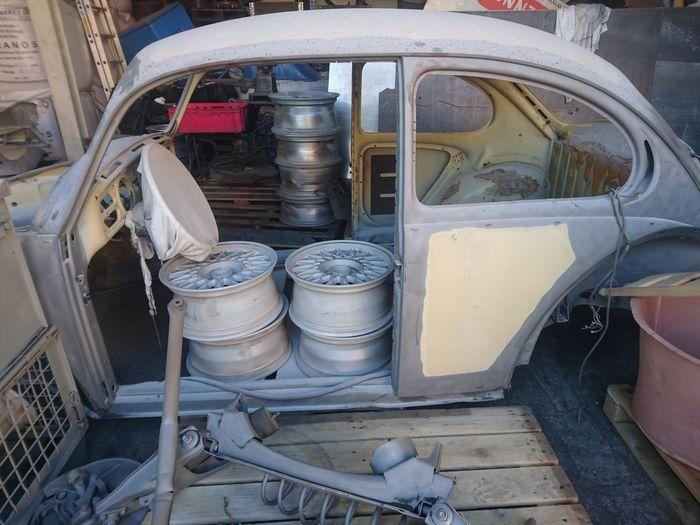 Transportation Car Mode Of Transport Land Vehicle No People Old Oldtimer Restoration Restoration In Progress Refurbished Restore Refurbish Restored
