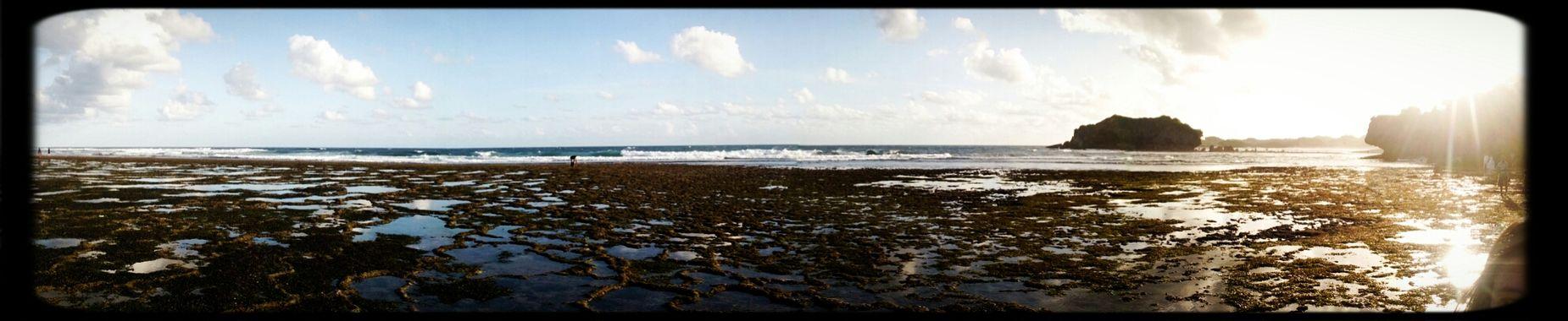 Beach Sea Panorama