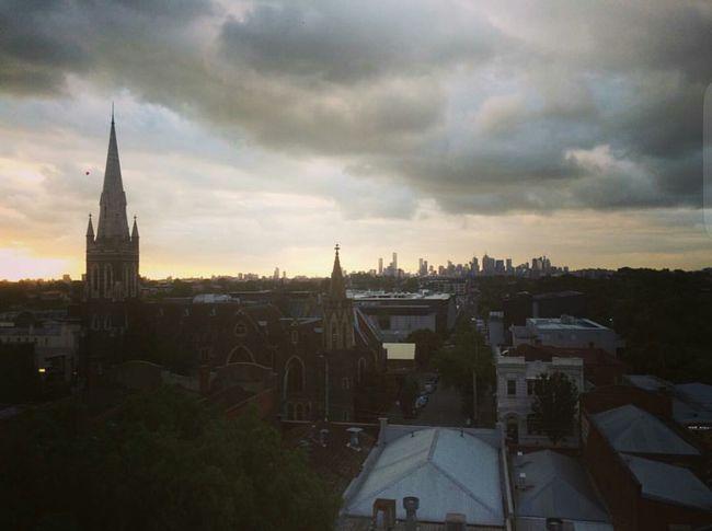 Architecture City Cityscape Sky Travel Destinations Architecture Building Exterior Built Structure City Cityscape Sky Cloud - Sky Cloudy Sunset Weather Travel Destinations Melbourne City Cloud