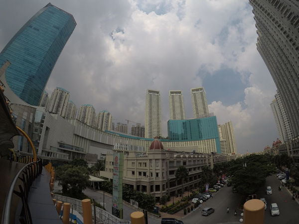 Skyscraper Architecture Building Exterior Cloud - Sky Sky City Built Structure People No Edit, No Filter, Just Photography No Edit/no Filter Gopro Wide Angle Full Length High Angle View GoPro Hero 5 Black The Great Outdoors - 2017 EyeEm Awards The Architect - 2017 EyeEm Awards Jakarta Indonesia INDONESIA Capture The Moment Exploring Shoot For Memories Together City Life With My Lady Neighborhood Map
