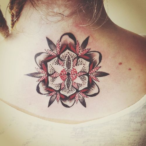 Tattoo Tattoo ❤ Mandala Tattoo Lotoflower MyFirstTattoo Enjoying Life New2015 Newlife💛