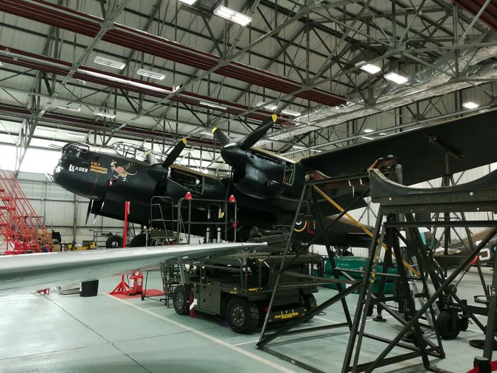 Raf Aviation Lancaster Airplane Hangar