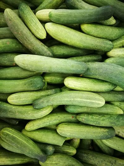 Abundance Backgrounds Close-up Cucumber Food Food And Drink Freshness Full Frame Green Color Healthy Eating High Angle View Indoors  Large Group Of Objects No People Organic Raw Food Seed Still Life Vegetable Wellbeing