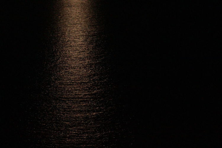 Light Reflection Black Background Contrast Dark Light And Dark Light And Shadow Moon Light Reflection Moonlight Nature Night No People Outdoors Water