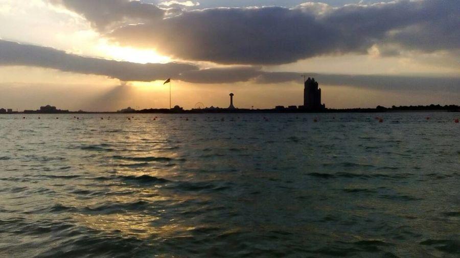 Sunset Cloud - Sky Sea Beach Social Issues Sky Dramatic Sky