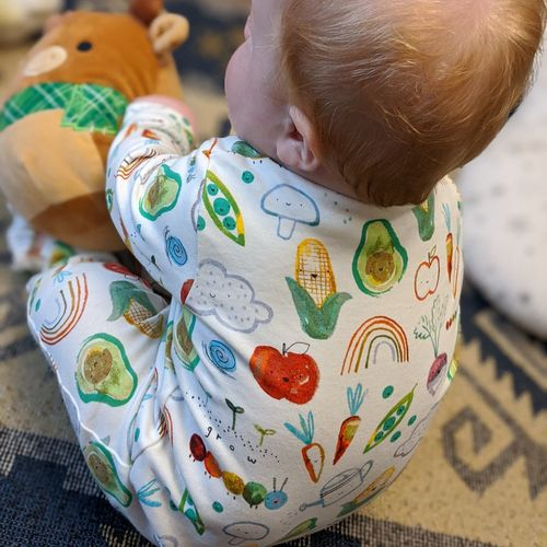 Close-up of cute baby toy