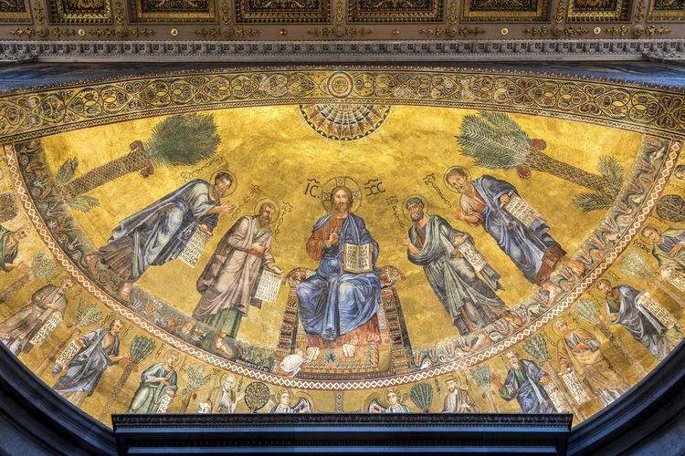 Church of the gesu ceiling