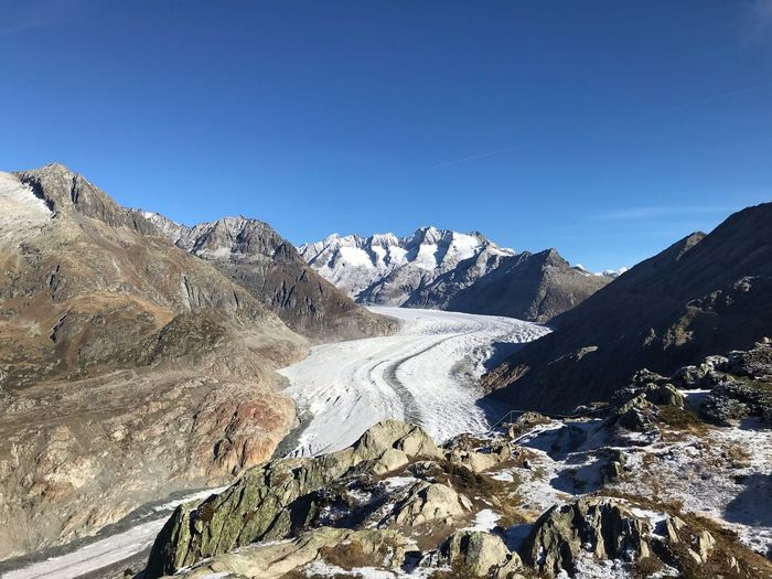 Glacier Snow