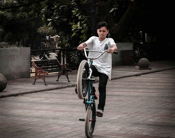 Bicycle One Person Riding Outdoors Cycling People Only Men Sport First Eyeem Photo