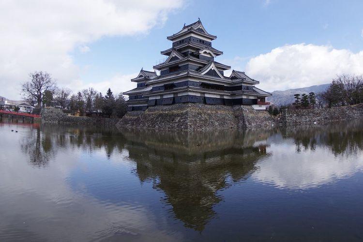 国宝 城 日本の城 松本城