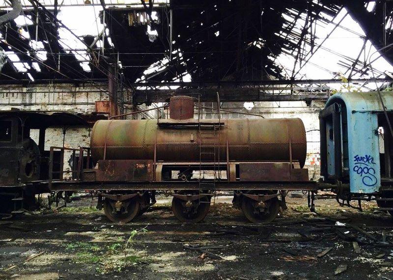 Trainwreck Train Station
