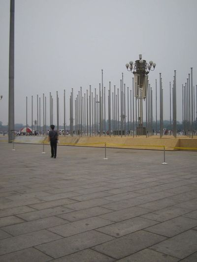 stand straight Beijing Beijing Scenes Soldier Stand Straight! Tian'anmen Square Outside Photography Sculpure Tweda