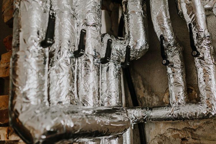 Full frame shot of icicles