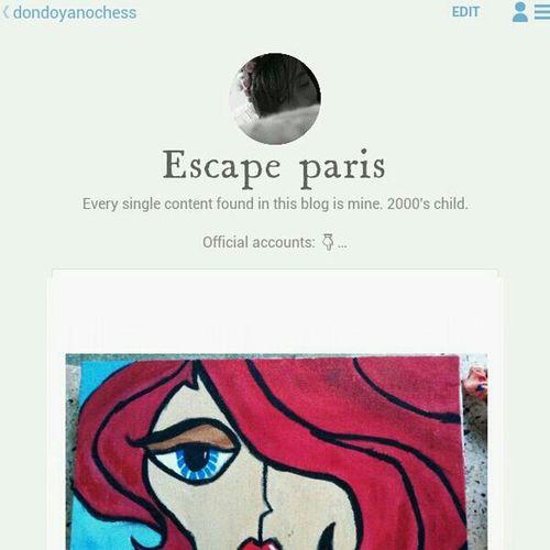 Do follow me on tumblr, i have many blogs here. Blogs Tumblr Escape Paris