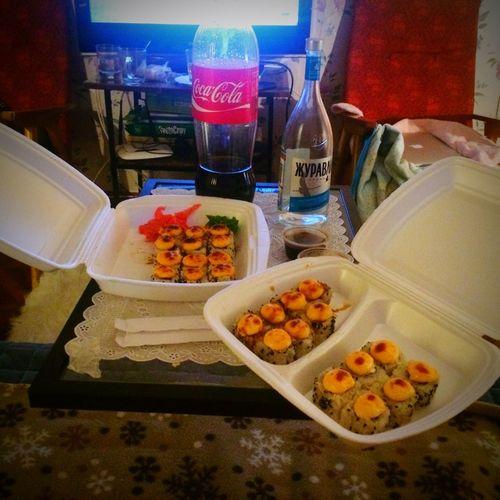 Еще одна пятница:) пятница  Выходные Weekends Fridays Sushi Time Суши