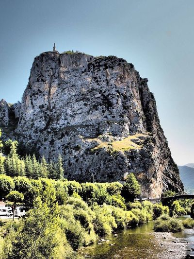 #Castellane France French Summer Cliff Rock Church Europe View Whitecliff High Longwayup