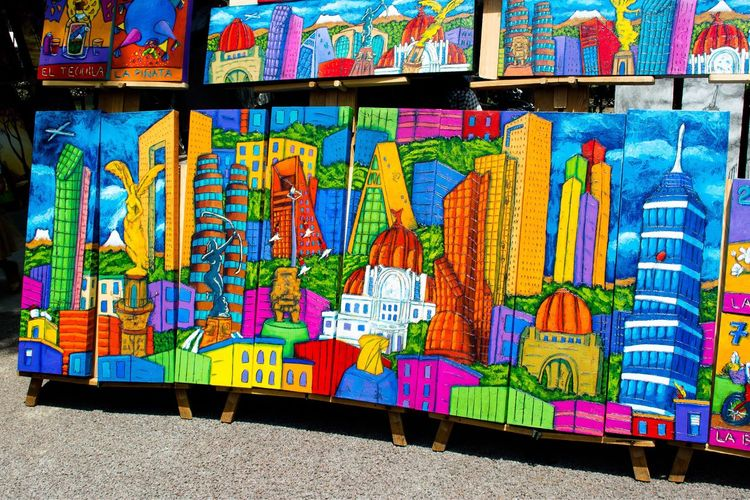 Multi Colored Creativity Art And Craft Graffiti Pattern Day Craft