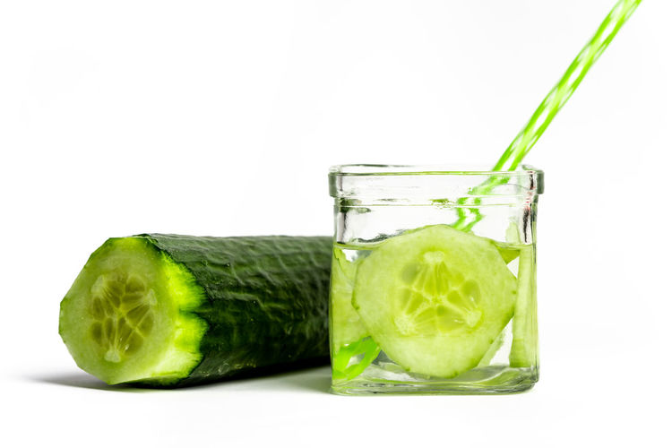 green natural health Health Green Cool Cold Refreshment Summer Cucumber SLICE Drink Water Hot Day Healthy Vitamin Diet