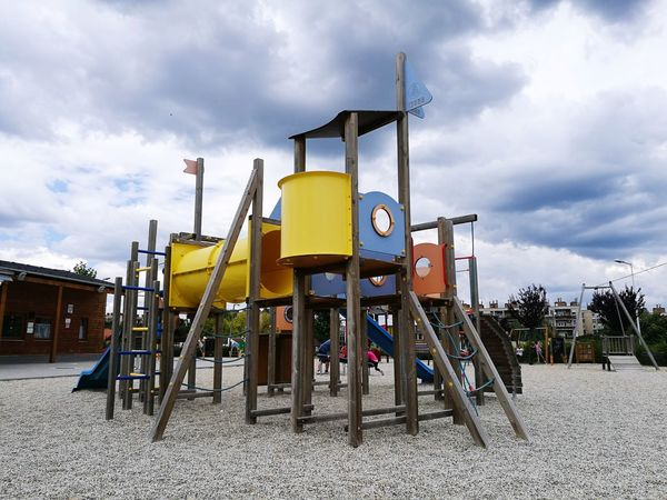 #sky #day #photography #playground #play #playing#kids#fun#outside #colors #naturaandhuman #beautiful #Nature  #naturelove #building #photography #children