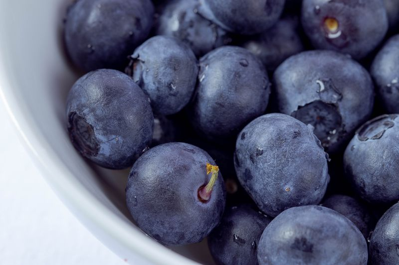 Blueberries Food And Drink Food Healthy Eating Freshness Wellbeing Fruit Still Life Blueberry No People Close-up Indoors  Berry Fruit Large Group Of Objects Abundance High Angle View Healthy Lifestyle Organic Full Frame