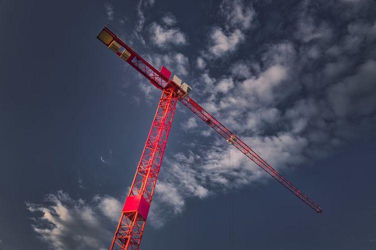 Crane Sky Low