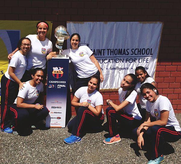 After hard a workout, we still have spirit to praise our school!! SaintThomasSchool First Eyeem Photo