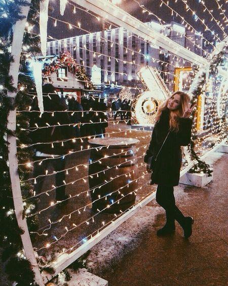 Girl Moscow Amazing Beautiful Russia Winter Cristmas Likeforlike EyeEm Best Shots
