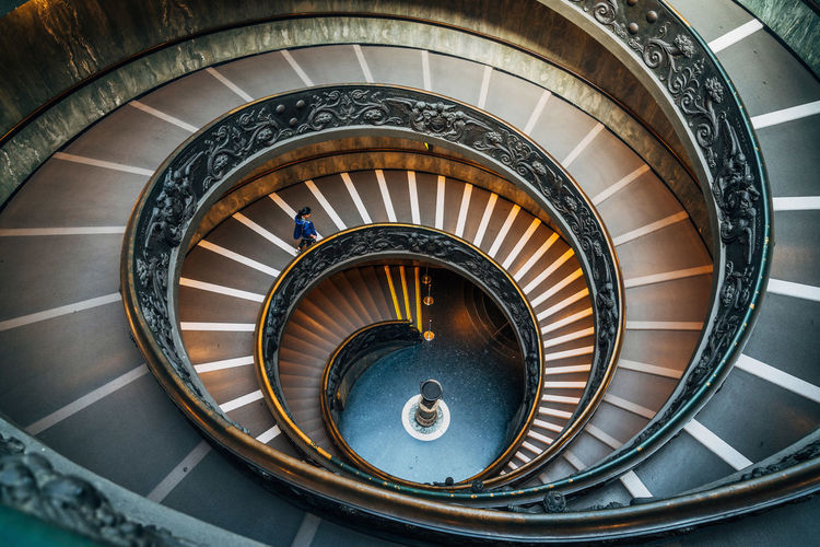 Architecture Built Structure Hand Rail High Angle View No People Railing Spiral Spiral Staircase Spiral Stairs Staircase Stairs Steps Steps And Staircases Lost In The Landscape