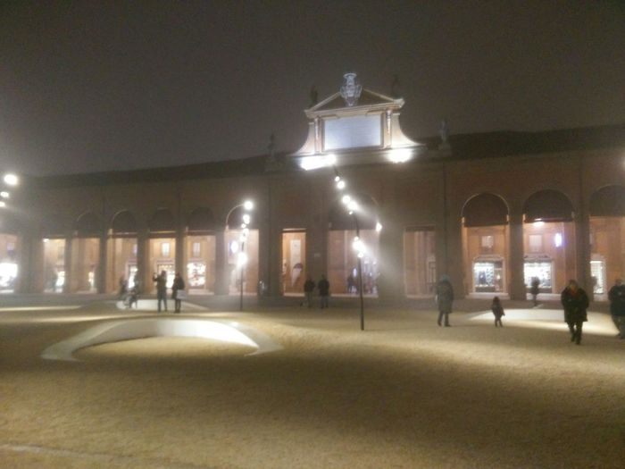 Pavaglione Romagna Parco Notte Centro Storico Lugo Piazza Nebbia Lugo Di Romagna