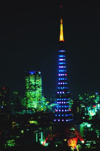 Tokyo tower in